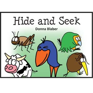 Kiwi Critters Books - Hide and Seek