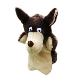 Big Bad Wolf hand puppets