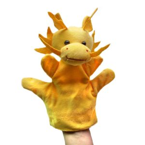 Dragon Hand Puppets