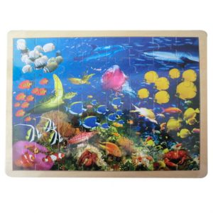 Large Wooden Sealife Jigsaw