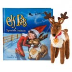 Christmas Pet Reindeer and Soft Cover Book