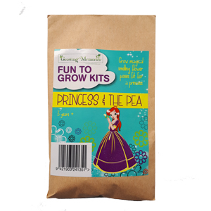 princess and the pea seed envelope