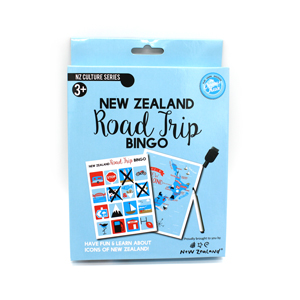 New Zealand Road Trip Bingo Game