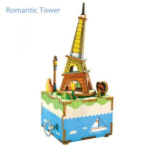 Music Box Puzzles - Eiffel Tower