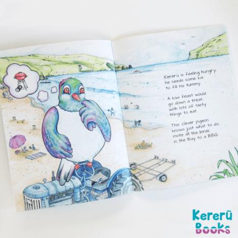 Kereru's BBQ Book - inside pages