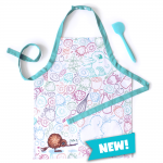 Kuwi the Kiwi Apron and Spatula set