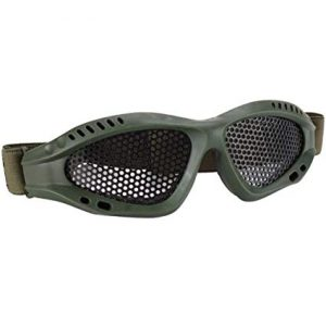 Green Childrens Safety Goggles