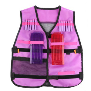 Pink Tactical Vest Dress Up set with accessories