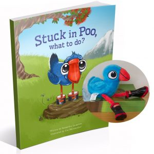 Stuck in Poo Book and Plush Toy