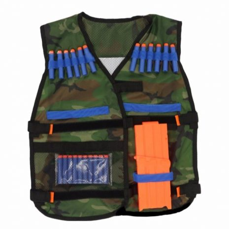 Camo Tactical Vest Dress Up set