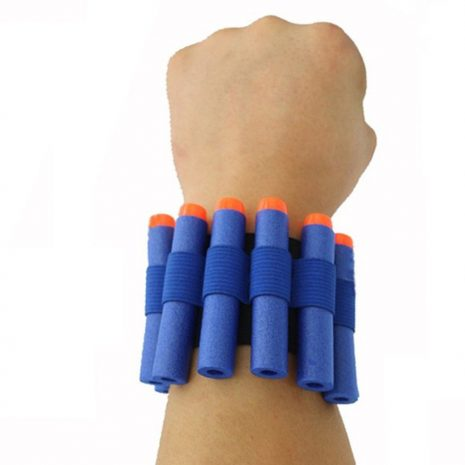Blue Quick Reload Wristband