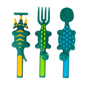 Dinosaur 3-piece Cutlery Set