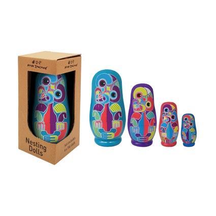 Tiki Nesting Dolls boxed