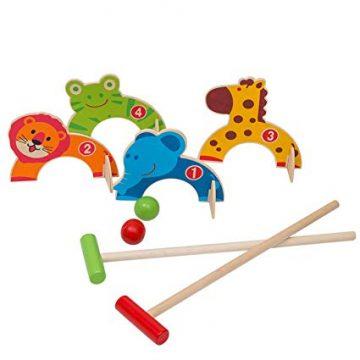 Wooden Animal Croquet