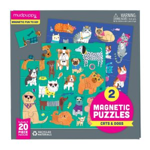 Cats and Dogs Magnetic Puzzle