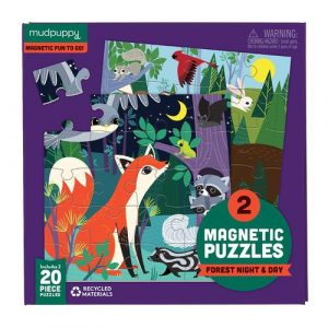 Forest Night and Day Magnetic Puzzle