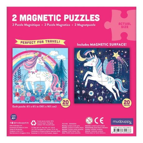 Magical Unicorn Magnetic Puzzle – reverse