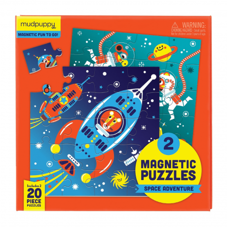 Outer Space Magnetic Puzzle