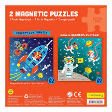 Outer Space Magnetic Puzzle – reverse