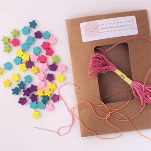Make your own Wooden Bead Necklace a