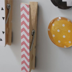 Make your own fridge magnets a
