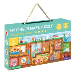 Finger Maze Puzzle Underground Houses