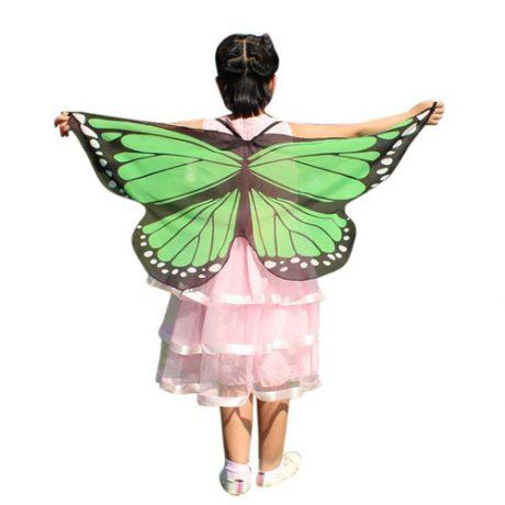 Green Butterfly Wings