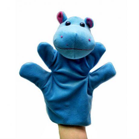 Hippo hand puppet