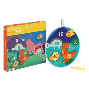 dino world dartboard game
