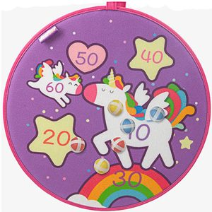 magic unicorn dartboard game