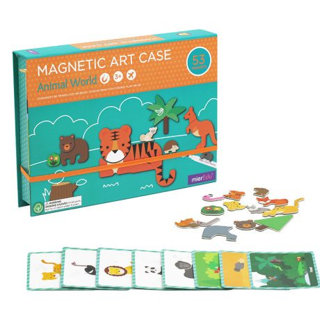magnetic art case – animal world
