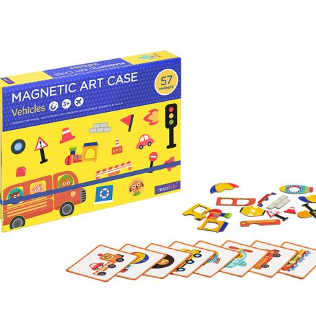 magnetic art case – vehicles