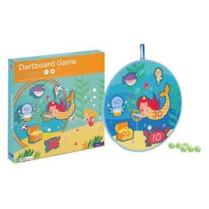 mermaid treasure dartboard game