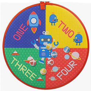 space war dartboard game board