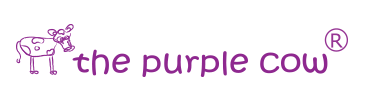 the purple cow logo