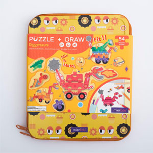 Diggersaurs Puzzle and Draw Magnetic Kit 300×300