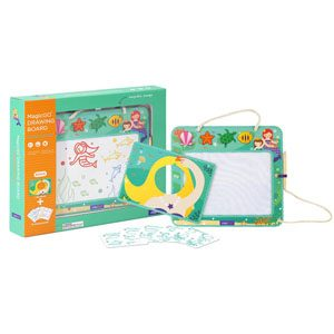 Doodle Mermaid Magnetic Drawing Board