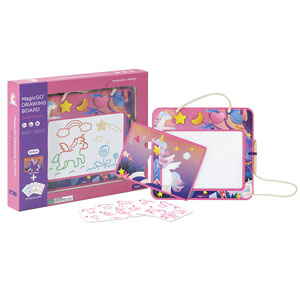 Doodle Unicorn Magnetic Drawing Board