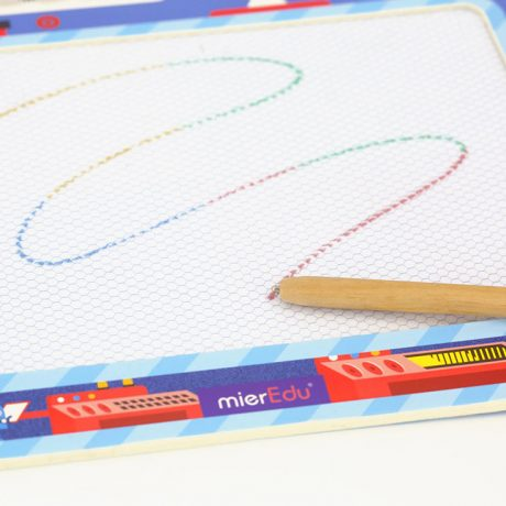 Robot magnetic drawing board a