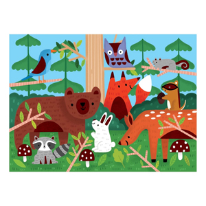 Woodlands Fuzzy Puzzle completed