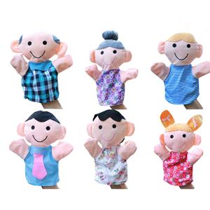 family hand puppet set