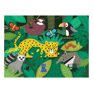 rainforest fuzzy puzzle completed