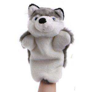 Grey Fox Hand Puppets