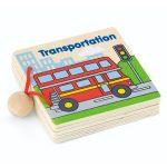 Wooden My First Book Transportation