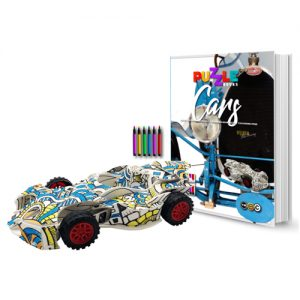 Cars 3D Puzzle Book