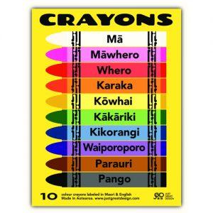 Kiwiana Crayons 10 pack
