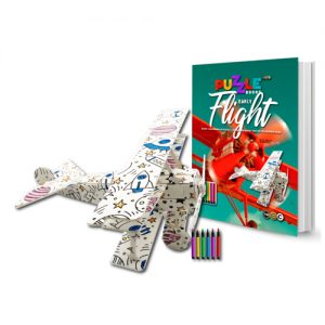 Early Flight 3D Puzzle Book
