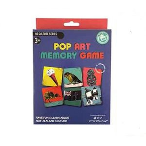 New Zealand Pop Art Memory Game