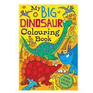 Big Dinosaur Colouring Book 72 page