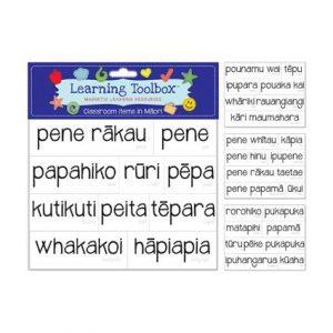 Magnetic Maori Class Items